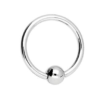 BCR Piercing, Ball Closure Ring, Body Jewellery, Thickness 1,2 mm | Diameter 6 - 12 mm