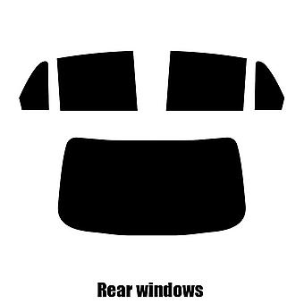 Pre cut window tint - Dodge Trazo 4-door Saloon - 2004 to 2012 - Rear windows