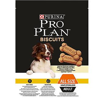 Pro Plan Adult Biscuit Light Chicken And Rice (Dogs , Treats , Light Treats)