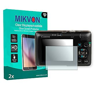 Canon PowerShot SD780 IS Screen Protector - Mikvon Clear (Retail Package with accessories)