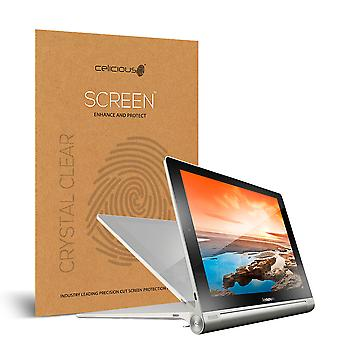 Celicious Vivid Invisible Glossy HD Screen Protector Film Compatible with Lenovo Yoga Tablet 10 HD+ [Pack of 2]