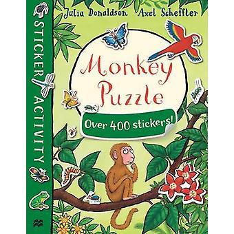 Monkey Puzzle Sticker Book (Main Market Ed.) by Julia Donaldson - Axe
