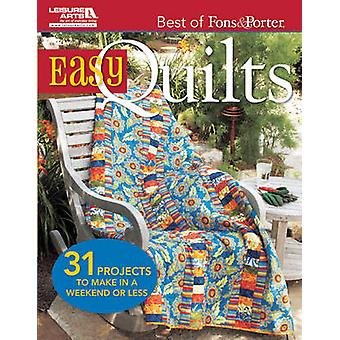 Easy Quilts - 31 Projects to Make in a Weekend or Less by Marianne Fon