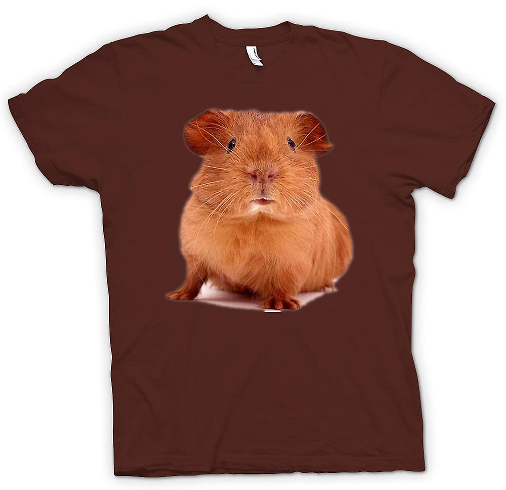 Mens t-shirt - cavia marrone - Cute Pet