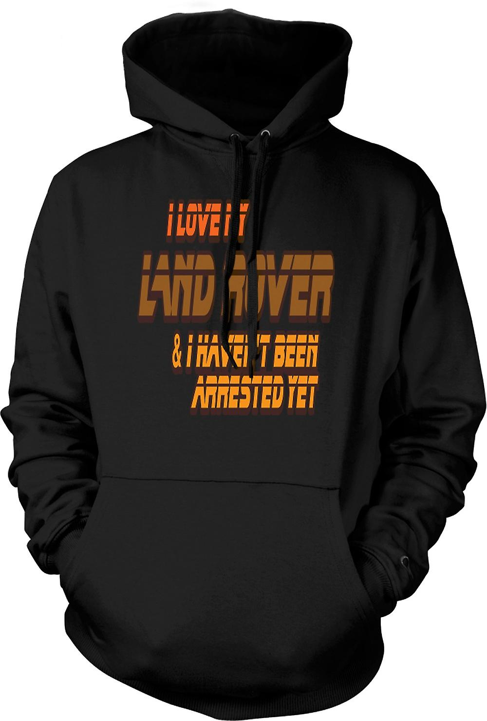 Kids Hoodie - I Love My Landrover