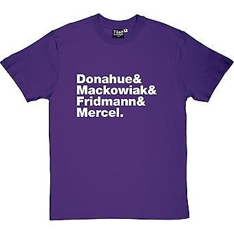 Mercury Rev Line-Up Men's T-Shirt