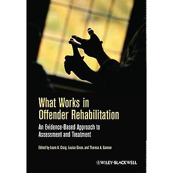 What Works in Offender Rehabilitation - An Evidence-Based Approach to