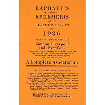 Raphaels Astronomical Ephemeris of the Planets Places