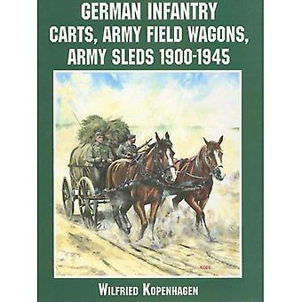 German Infantry Carts, Army Field Wagons, Army Sleds 1900-1945 (Schiffer Military History)