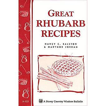 Great Rhubarb Recipes (Storey Country Wisdom Bulletin, a-123)