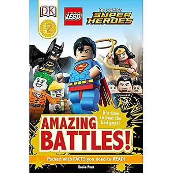 LEGO DC Super Heroes de Comics: Increíbles batallas! (Lectores DK: nivel 2)