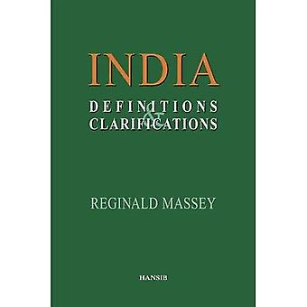 India: Definitions and Clarifications