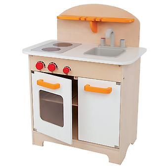 Jeu d'imitation enfant jeux jouets Cuisine gourmet blanche pour enfant 0102071
