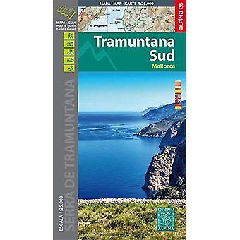 Mallorca -Tramuntana Sud GR11 map&hiking guide