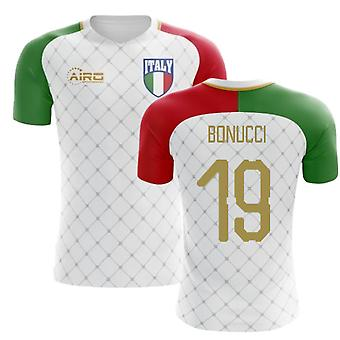 b4557f52b91 2018-2019 Italy Away Concept Football Shirt (Bonucci 19)