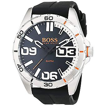 Hugo Boss Orange 1513285 quartz watch for men, silicone band and classic analog display