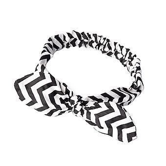 Prohibido el negro y blanco Laura Headband