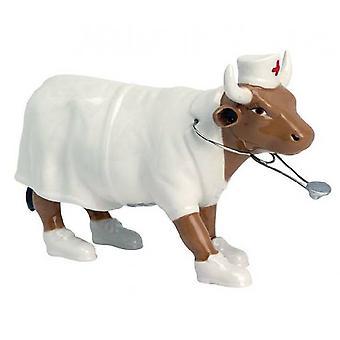 Cow Parade Nightencow enfermera (medio)