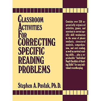Classroom Activities For Reading Pr by Pavlak