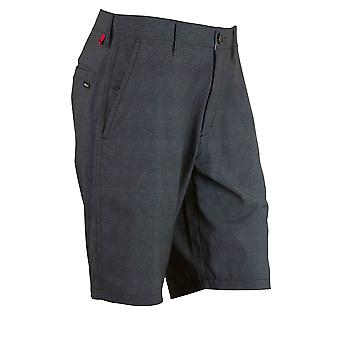 RVCA Mens VA Sport Benefits Hybrid Shorts - Black - surf skate swim