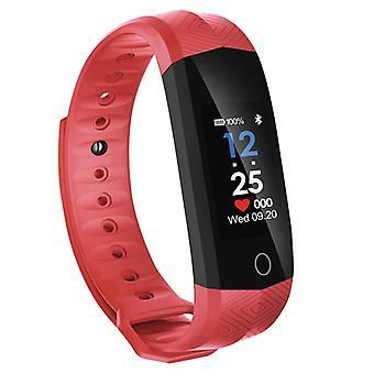 Bracelet d'activité avec la couleur rouge écran imperméable à l'eau