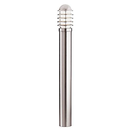 Searchlight 052-900 Modern Outdoor Bollard Lamp Post In Stainless Steel