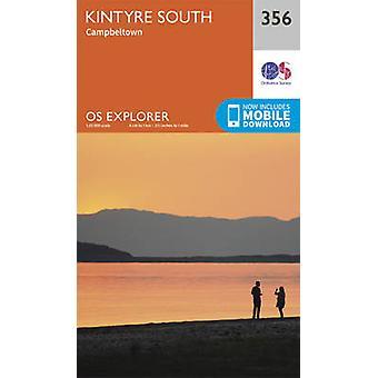 Kintyre South (September 2015 ed) by Ordnance Survey - 9780319246078