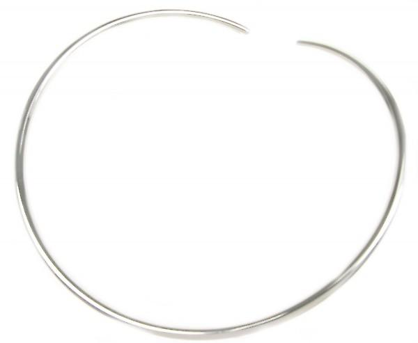 Cavendish French Sterling Silver Flexible Torque