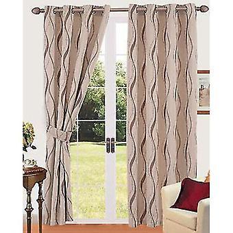 Comfort Collection Eyelet Curtain - Lamina