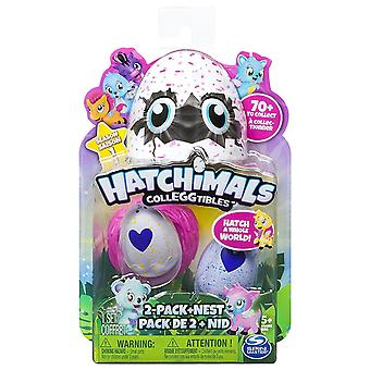 Hatchimals Colleggtibles Series 1 - 2 Pack And Nest #6034164