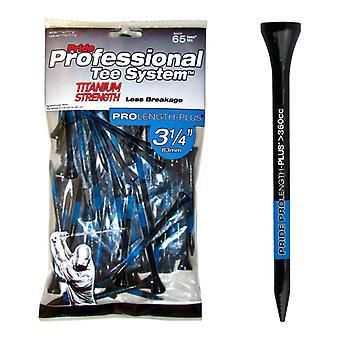 Stolz PTS Titan Golf Tees 3 1/4in Tees x 65 Extra Stärke weniger Bruch