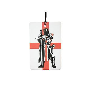 St Georges Day Knight England Flag Car Air Freshener