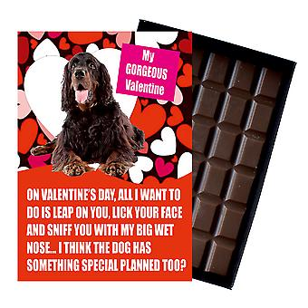 Gordon Setter Gift for Valentines Day Presents For Dog Lovers Boxed Chocolate
