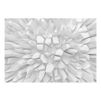 Artgeist tapet hvid dahlia (dekoration, vægmalerier, væg vægmalerier standard)