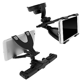 Universal Car Tablet Mount Holder (7 a 11 pulgadas) - Reposacabezas / Parabrisas