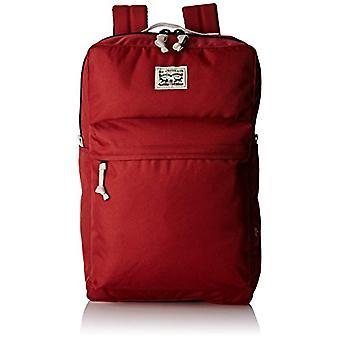 Levi's 225294 8 87 - Adult Unisex Rucksack - Rot (Regular Red) - 12x45x29 cm (B x H x L)