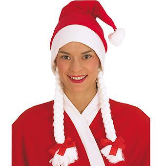 Nikolausin Santa Hat Santa Claus Xmas braids
