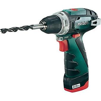 Metabo PowerMaxx BS Cordless drill 10.8 V 2 Ah Li-ion incl. rechargeables
