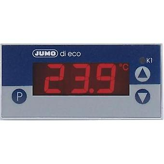 Temperature controller Jumo di eco J, L, K -200 up to +999 °C 10 A relay (L x W x H) 56 x 76 x 36 mm