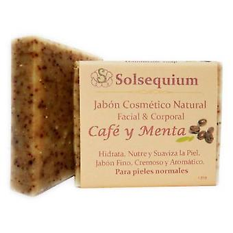 Solsequium Coffee and Mint Handmade Soap 85g