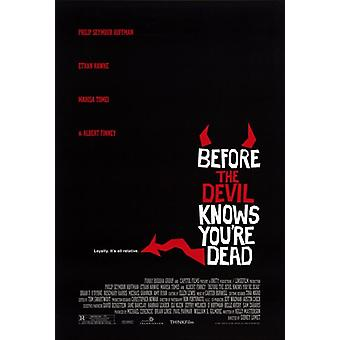 Before the Devil Knows Youre Dead filme Poster (11 x 17)