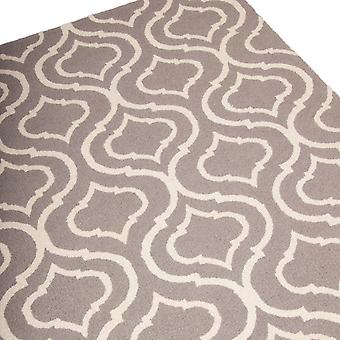 Linear Rugs Lin15 In Silver