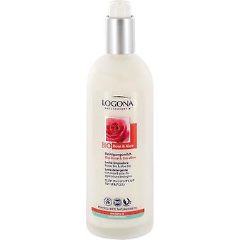 Logona Rosas Aloe Cleansing Milk