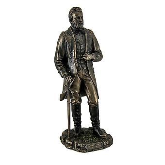 Ulysses S. Grant 18. US-Präsident in Uniform mit Schwert Statue stehend