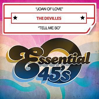 Devilles - Joan of Love / Tell Me So USA import