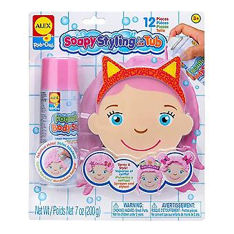 Alex RubaDub Soapy Styling in the Tub 12 pcs 3 yrs+