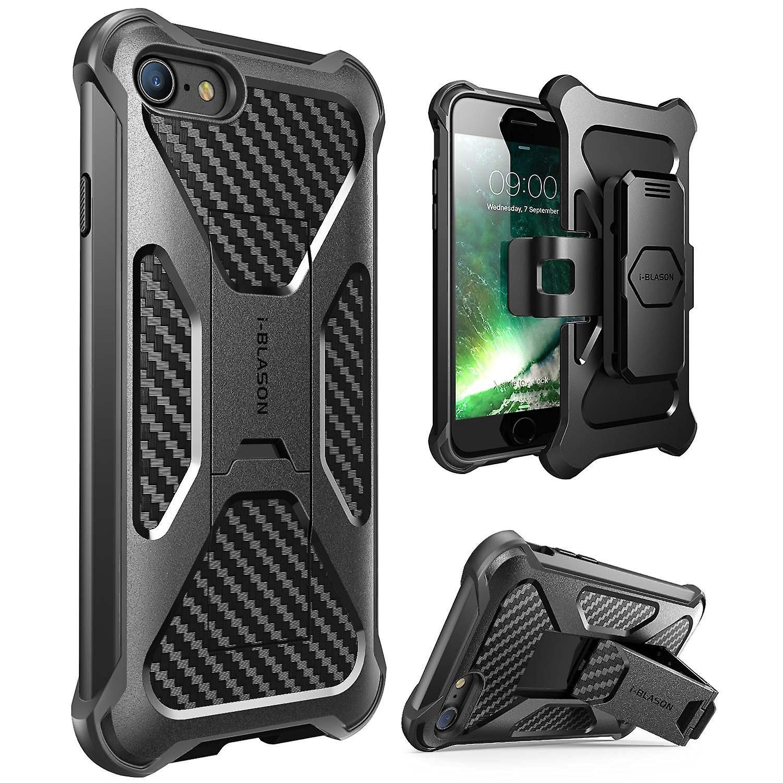 iPhone 7 Case-Transformer [Kickstand] Holster Case-Apple Iphone 7 -Black