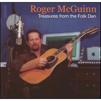 Roger McGuinn - skatte fra the Folk Den [CD] USA import