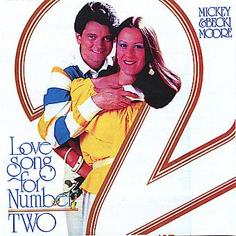 Mickey Moore & Becki - Love Song for Number Two [CD] USA import