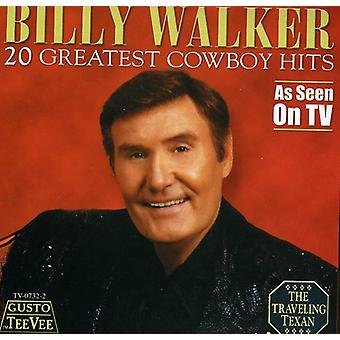 Billy Walker - 20 største Cowboy Hits [CD] USA import